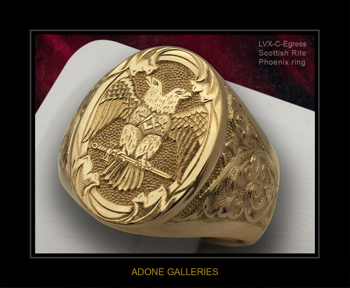Golden ring for women with price